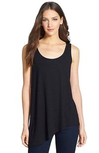 Eileen Fisher Fluttering Top NWT Black
