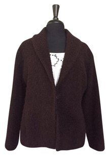 Eileen Fisher Textured Wool Blazer/Jacket Italian Blazer