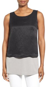 Eileen Fisher Versatile Top Black
