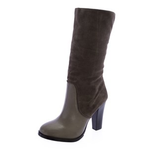 Elaine Turner Womens Gray Boots