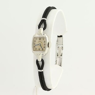 Elgin Lady Elgin Wristwatch - 14k White Gold Mechanical Movement