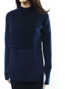 Elie Tahari Long Sleeve Mn6wh606 Top