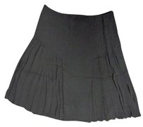 Elie Tahari Lightweight Pleated Zipper And Sma10723 Skirt Black