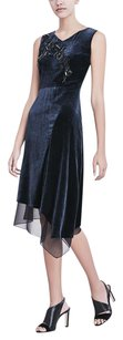 Elie Tahari Sequin Velvet Dress