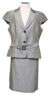 Tahari Tahari Grey 2pcs Suit
