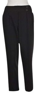 Elizabeth and James Solid Dress Polyester Trouser Pants