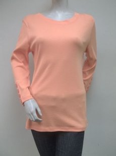 Elliott Lauren Sorbet Long Top Orange