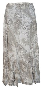 Emanuel Ungaro Tiered Skirt Grays