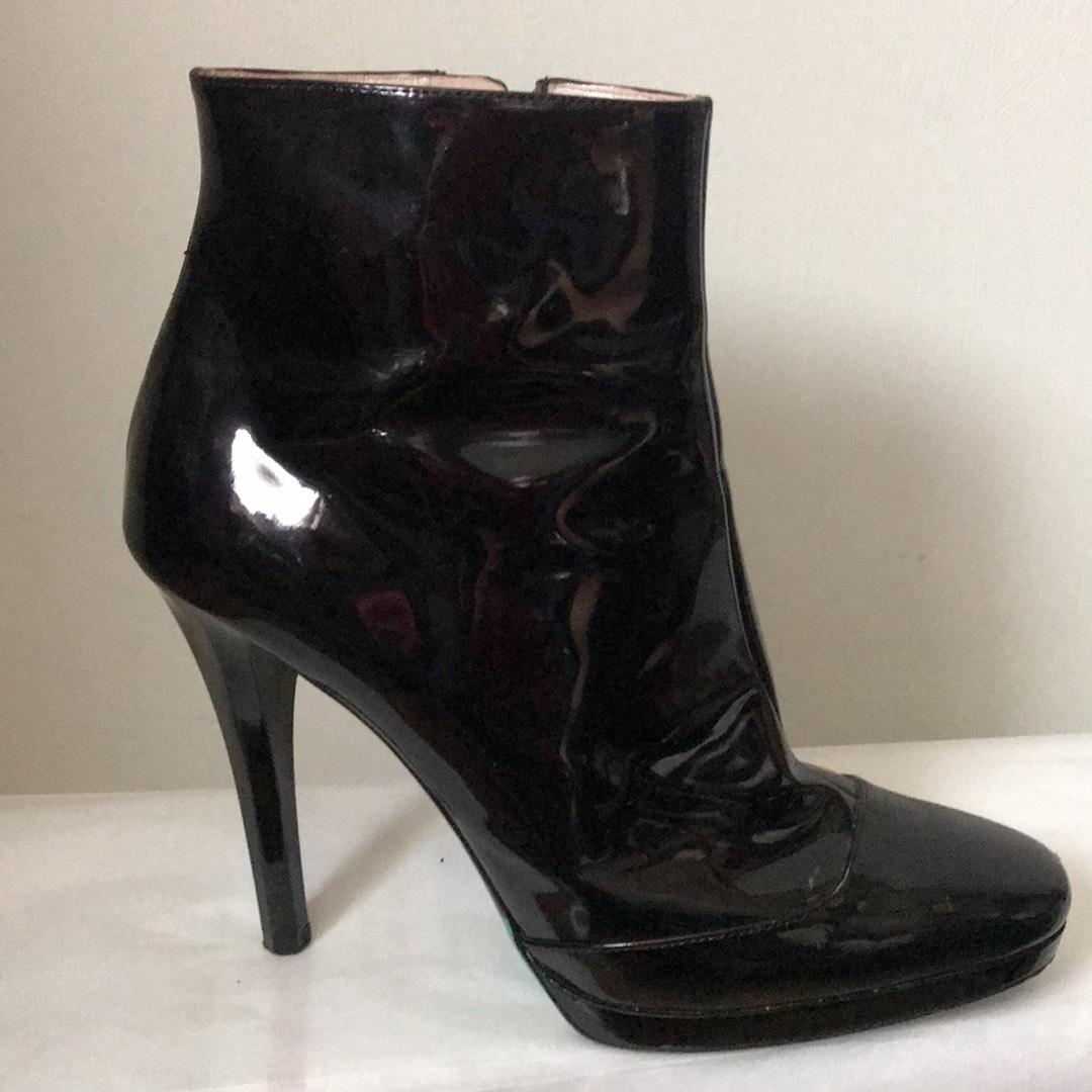 Free Shipping Best Sale Emilio Pucci Patent Leather Boots Wiki Free Shipping Popular Sale 2018 New N4EPvfrFJ