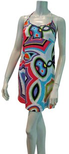 Emilio Pucci short dress MULTI Halter Mini on Tradesy
