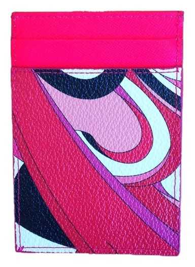 abstract print card holder - Multicolour Emilio Pucci New Sale Online Fake Discount Extremely 2Jdka8gtZn
