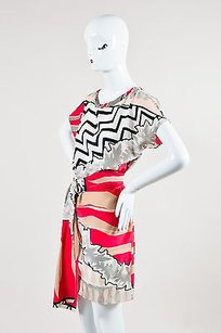 Emilio Pucci short dress Multi-Color Gray Pink Blush on Tradesy