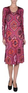 Emilio Pucci Silk Belted Dress