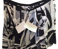Emilio Pucci Skirt Black and white