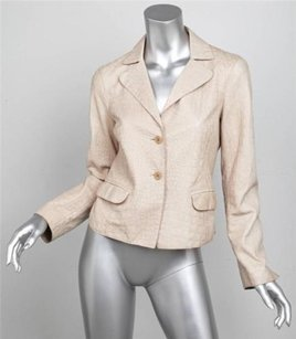 Emporio Armani Natural Tan Jacket