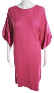 Emporio Armani short dress Pink on Tradesy