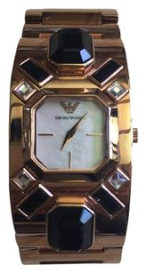 Emporio Armani Emporio Armani Rose Gold Ladies Cuff Watch