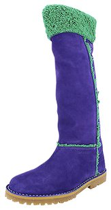 Emporio Armani Eu 7 Us Womens purple Boots
