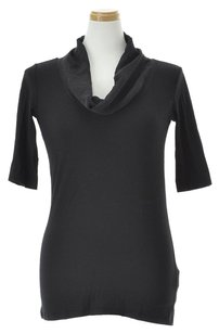 Emporio Armani Women's Clothing Cut And Sewn Top Black