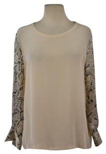Equipment Femme Womens Top Creme