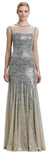 Erin Fetherston Sequin Mermaid Formal Lace Gown Dress