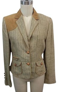 Escada Sport Linen Tan Beige Jacket