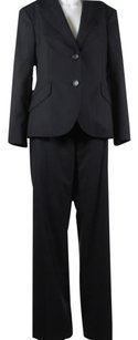 Escada Escada Womens Black Pant Suit 4042 810 Wool Blazer