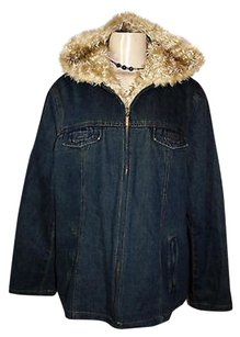 Esprit Jean Denim Faux Womens Jean Jacket