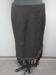 Etcetera Wool Blend Skirt Black