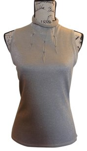 Etcetera Top Metallic grey