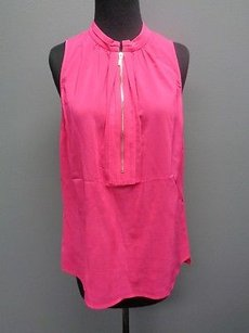 Etcetera Hot Rayon Blend Top Pink