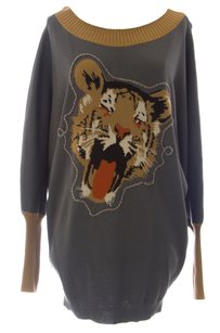 Eternal Child & Hoodies Womens Etch_grey_tiger_s Sweater