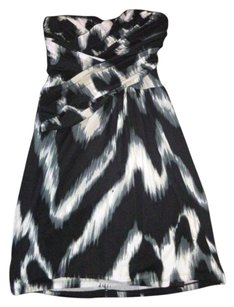 Express Chevron Cross Over Crossover Dress