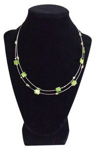 Express Green Sparkle Necklace