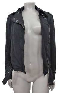 Express Belted Moto Motorcycle Jacket