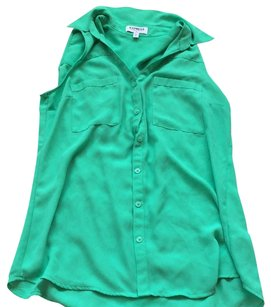 Express Top Kelly green