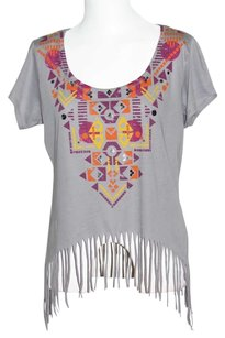 Eyeshadow T Shirt Gray