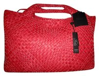 Falor Italian Leather Woven Luxury Shoulder Bag