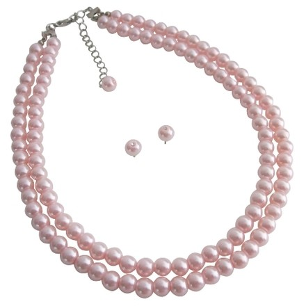 Pink Pearls Most Popular Bridesmaid Gifts Pearls Jewelry Sets