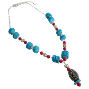 Turquoise Coral Rings Artisian Necklace Would Be Gorgeous Gift