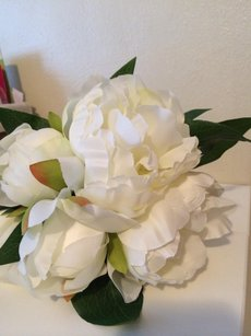 Faux Peony Bouquets - 8