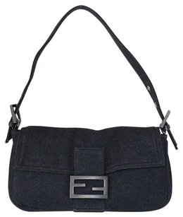 Fendi Knit Fabric Baguette