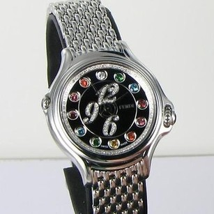 Fendi Fendi Crazy Carats Black Diamond Multi Color Gems Dial 33mm Watch