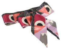 Fendi Fendi Monster FF Limited Edition Twilly Scarf Silk Wrap Made in Italy