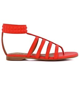 Fendi Fab Citrus Orange Sandals