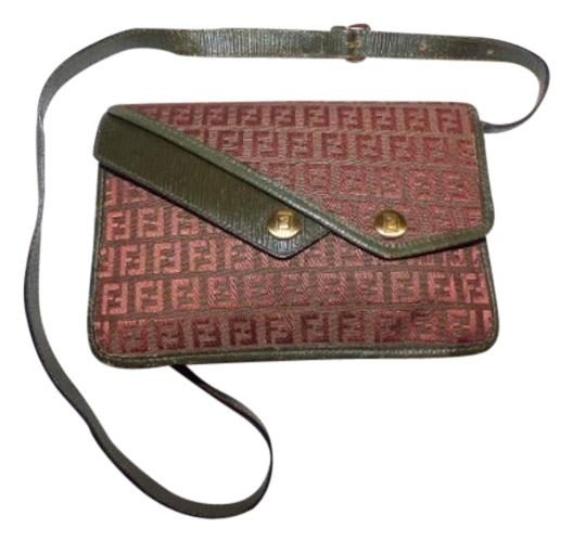 Fendi Mint Vintage Multiple Compartment Layered Snap Pockets Expendable  Bottom Asymmetrical Front Cross Body Bag ...