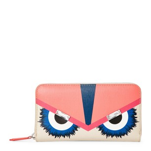 Fendi Monster Crystal-Brow Key Pouch