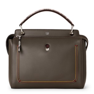 Fendi Satchel in Charcoal Grey