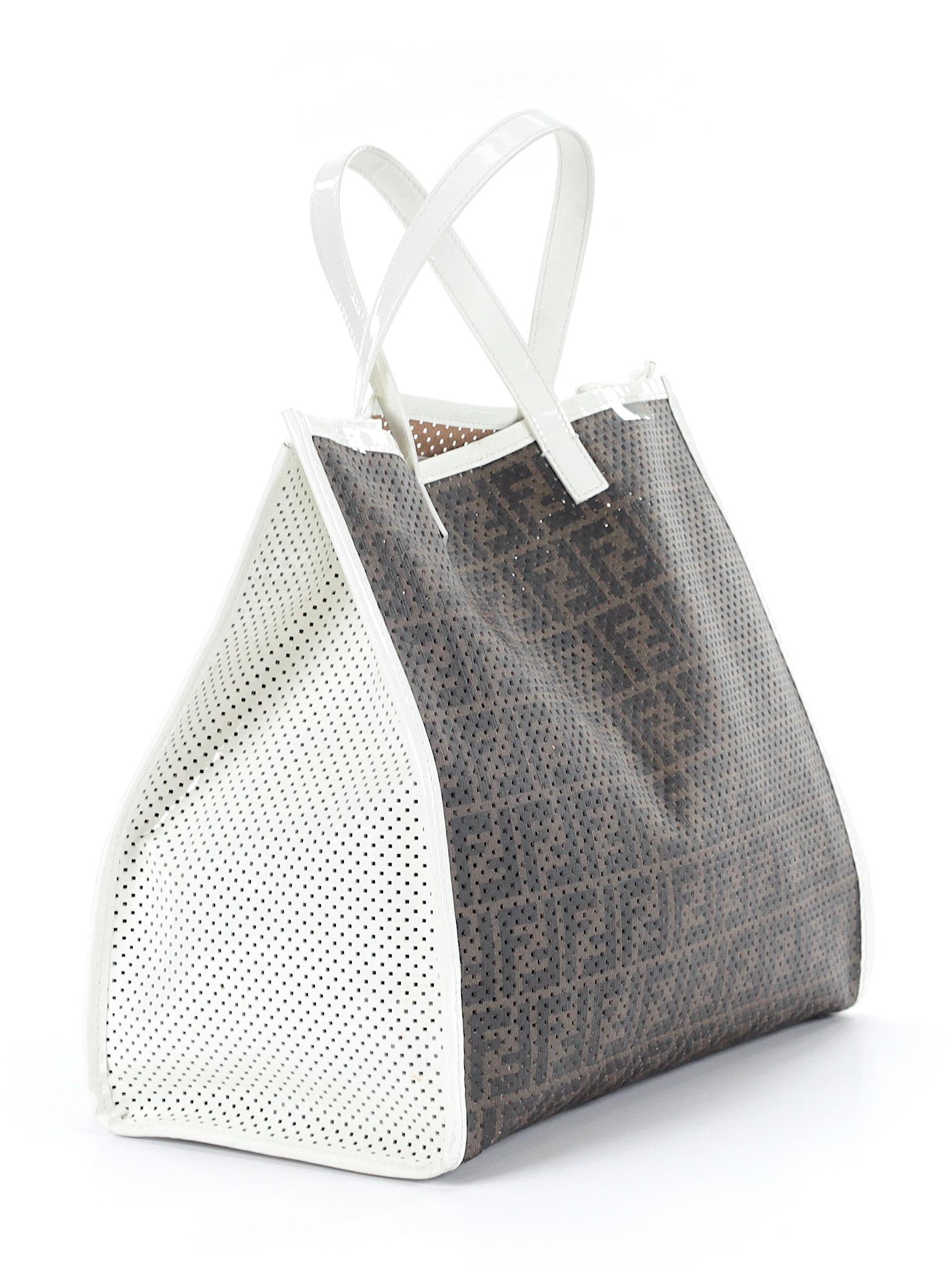 069944957281 ... germany fendi perforated zucca tote. 123 9c0b6 33af7