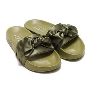 FENTY PUMA by Rihanna Olive Green Sandals